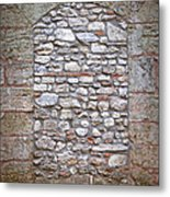 Bricked Up Doorway Metal Print