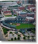 Bricktown Ballpark D Metal Print by Cooper Ross