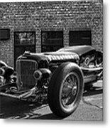 Brickyard Buick Metal Print