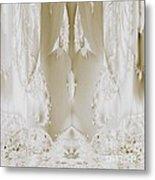 Bridal Satin Metal Print