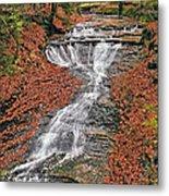 Bridal Veil Waterfall Metal Print