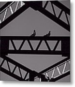 Bridge Abstract Metal Print