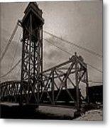Bridge Again Metal Print