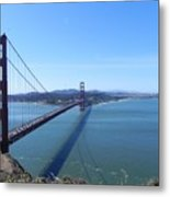 Bridge America Metal Print