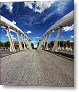 Bridge Arch Metal Print