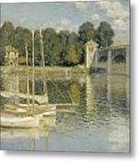 Bridge At Argenteuil Metal Print