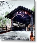 Bridge At Stone Mountain Metal Print