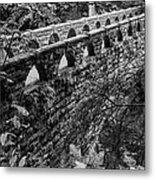 Bridge At Whatcom Falls Park  Metal Print