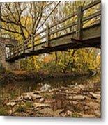 Bridge Between Seasons Metal Print