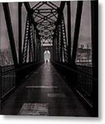 Bridge Crossing Metal Print by Bob Orsillo