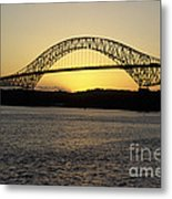 Bridge Of The Americas Panama Metal Print