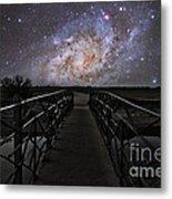 Bridge On A Distant Planet Metal Print