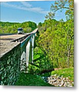 Bridge Over Birdsong Hollow At Mile 438 Of Natchez Trace Parkway-tennessee Metal Print