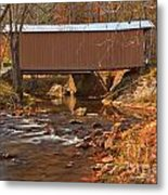 Bridge Over Smith River Metal Print