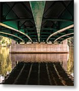 Bridge Over The Connecticut River Metal Print
