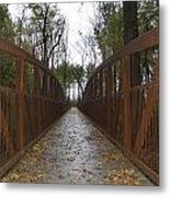 Bridge Over The Crik Metal Print