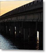 Bridge Over The Saint Johns Metal Print