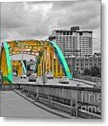 Bridge Pop Metal Print