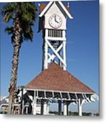 Bridge Street Pier And Clocktower  Metal Print