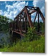 Bridge To A Time Gone By Metal Print
