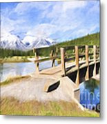 Bridge To Beauty Metal Print