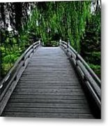 Bridge To Japanese Serenity Metal Print