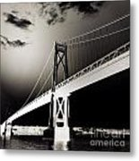 Bridge To Poughkeepsie 2 Metal Print