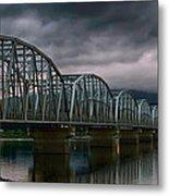 Bridge To Teslin Metal Print