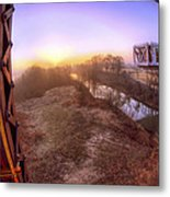 Bridge To The 21st Century - Clinton Presidential Library - Arkansas - Little Rock Metal Print