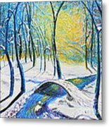 Bridge To The Other Side Metal Print