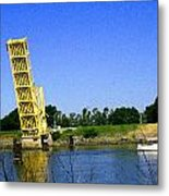 Bridge Up 4 Safe Passage Metal Print