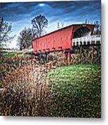 Bridges Of Madison County Metal Print