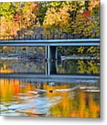 Bridges Of Madison County Metal Print