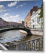 Bridges Of St. Petersburg Metal Print
