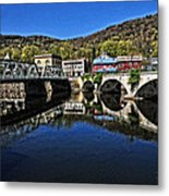 Bridges To Buckland Metal Print