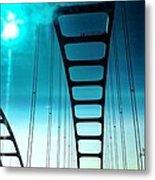 Bridges To Heaven Metal Print