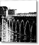 Bridging The Boyne Metal Print