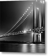 Bridging Verrazano Narrows Metal Print