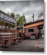 Bridgnorth Railway Station Metal Print