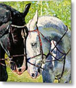 Bridled Love Metal Print