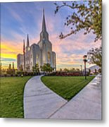 Brigham City Sunset Metal Print
