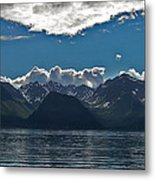 Bright And Cloudy Metal Print
