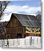 Bright And Early Coffee Metal Print