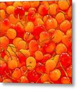 Bright And Orange Metal Print