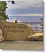 Bright Angel Trailhead Metal Print