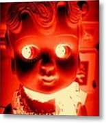 Bright Eyed Kewpie Metal Print