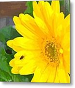 Bright Flower Metal Print