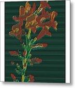 Bright Flowers - 3 Metal Print