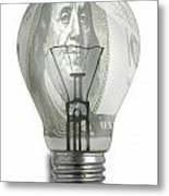 Bright Idea-2 Metal Print