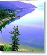 Bright Kootenay Lake Metal Print